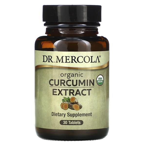 Dr. Mercola, Organic Curcumin Extract, 30 Tablets