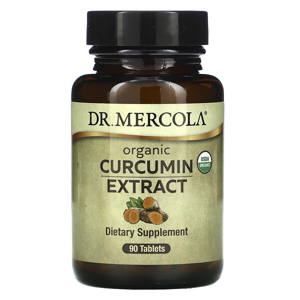 Dr. Mercola, Organic Curcumin Extract, 90 Tablets