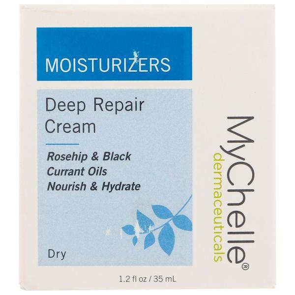 MyChelle Dermaceuticals, Крем для глубокого восстановления сухой кожи, 1,2 жидких унций (35 мл) (Discontinued Item)