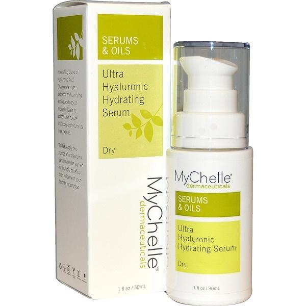 MyChelle Dermaceuticals, Ультраувлажняющая гиалуроновая сыворотка, для сухой кожи, шаг 3, 30 мл (Discontinued Item)