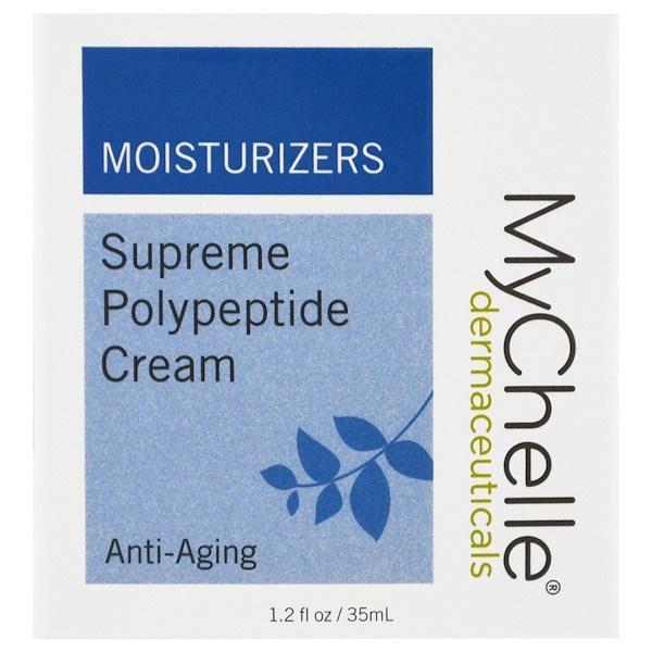 MyChelle Dermaceuticals, Высококачественный крем с полипептидами, антивозрастной, 1,2 ж. унц.(35 мл) (Discontinued Item)