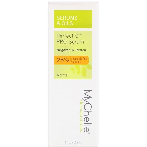 MyChelle Dermaceuticals, Идеальная сыворотка C PRO, 0,5 ж. унц. (15 мл) (Discontinued Item)