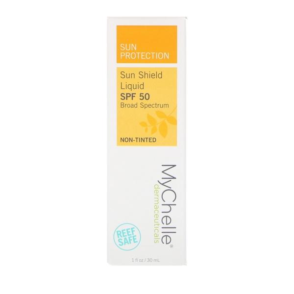 MyChelle Dermaceuticals, Солнцезащитный крем, SPF 50, не тонирующий, 1 флакон (30 мл) (Discontinued Item)