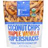 Made in Nature, Органические, кокосовые чипсы, Суперснеки с кленовым сиропом и ванилью, 85 г