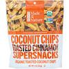 Made in Nature, Органические кокосовые чипсы, поджаренные суперснеки с корицей, 85 г (3 унции)
