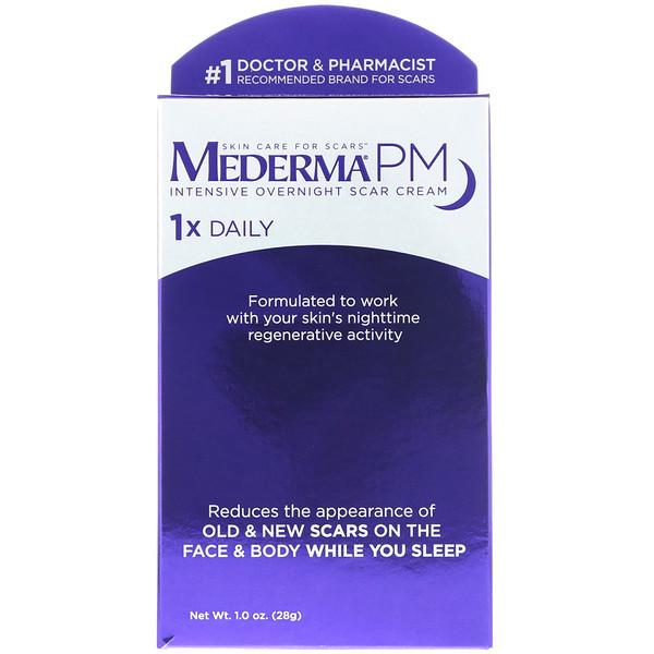 PM, интенсивный ночной крем против шрамов, 28г (1,0унции)