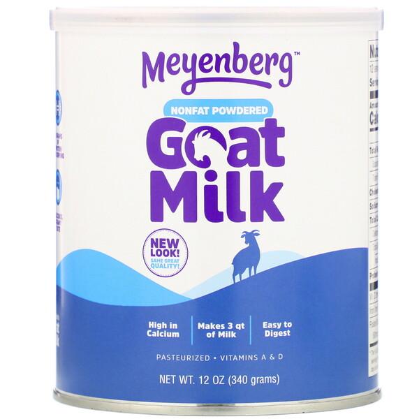 Meyenberg Goat Milk, Обезжиренное сухое козье молоко, 340 г (12 унций)