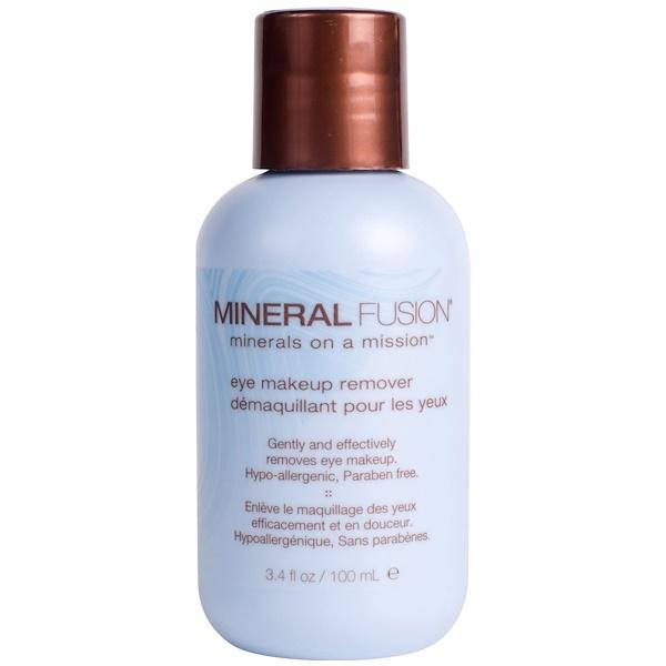 Mineral Fusion, Средство для снятия макияжа с глаз, 3,4 жидких унций (100 мл) (Discontinued Item)