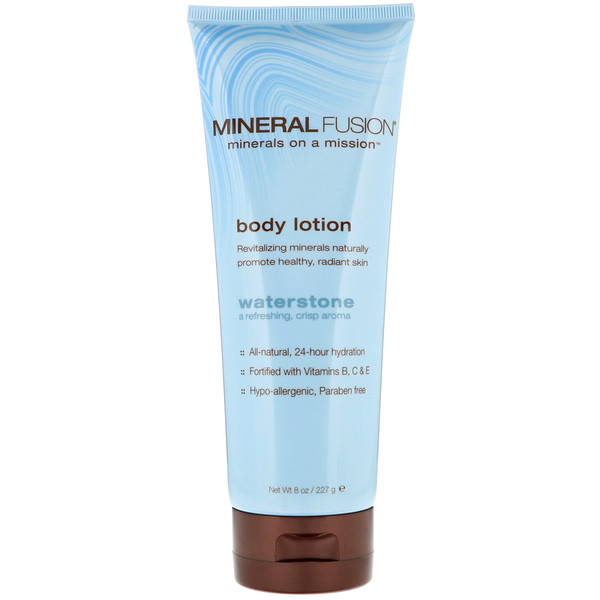 Mineral Fusion, Body Lotion, Waterstone, 8 oz (227 g) (Discontinued Item)