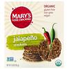 Mary's Gone Crackers, Jalapeno Crackers, 5.5 oz (155 g)
