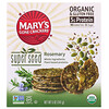 Mary's Gone Crackers, Крекеры Super Seed, розмарин, 141 г