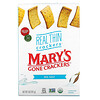 Mary's Gone Crackers, Крекеры Real Thin Crackers, морская соль, 141г