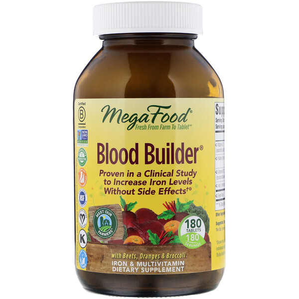 Blood Builder, 180 Tablets