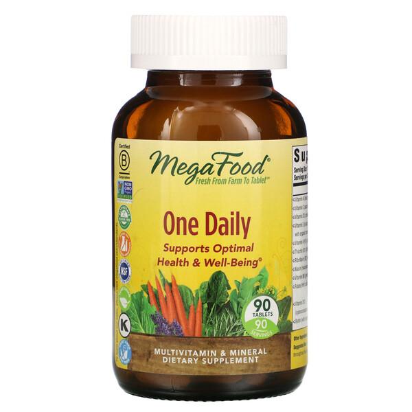 One Daily, витамины для приема один раз в день, 90таблеток