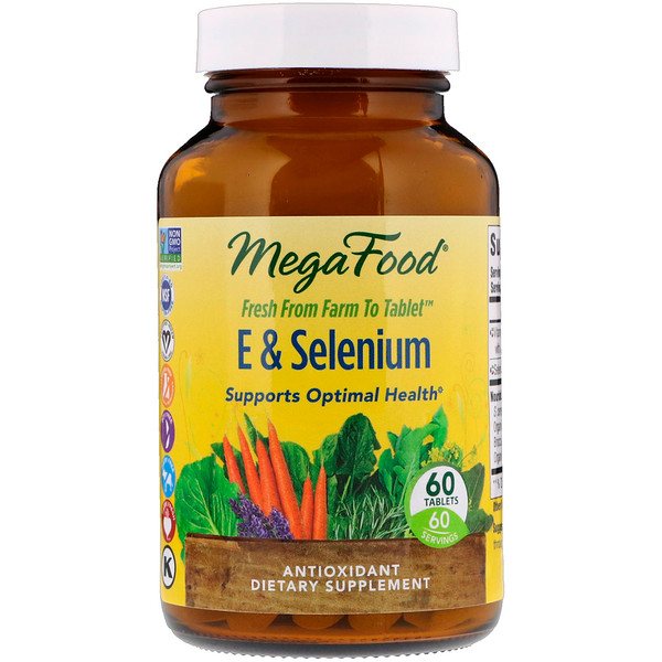 E & Selenium, 60 таблеток