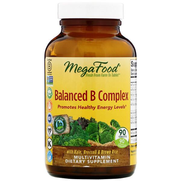 Ежедневное питание, Сбалансированный комплекс витаминов группы В, 90 таблеток