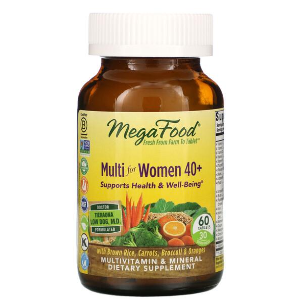 комплекс витаминов и микроэлементов для женщин старше 40лет, 60таблеток