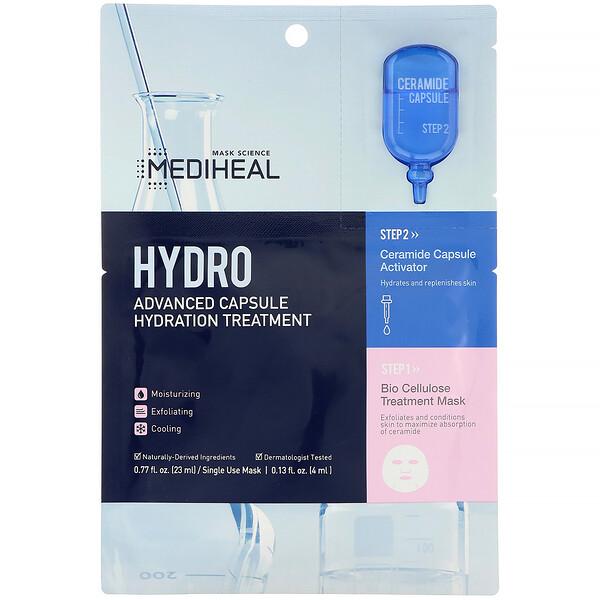 Hydro, Advanced Capsule Hydration Treatment Mask, 1 Sheet, 0.77 fl oz (23 ml)