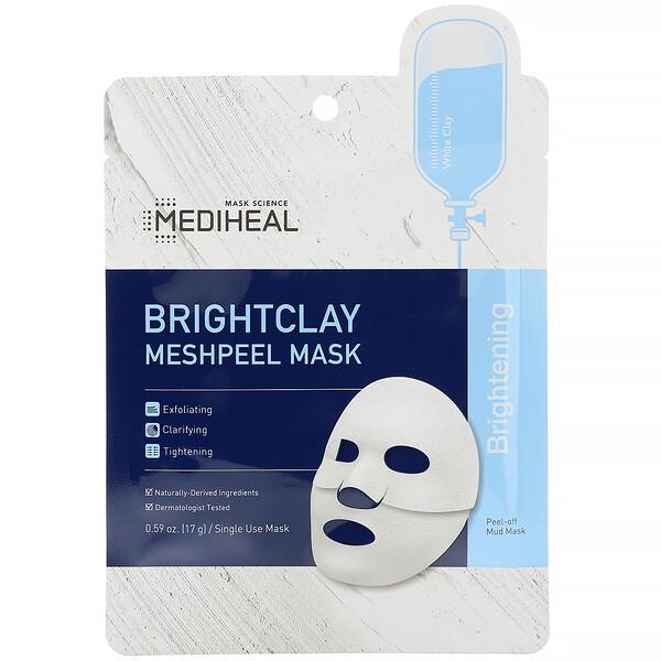 Brightclay, маска-пилинг, 5шт. по 17г