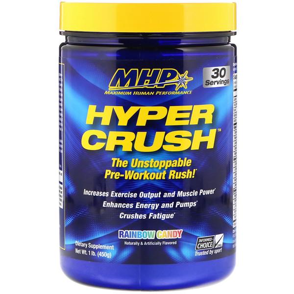 Стимулятор Hyper Crush, радужная конфета, 1 фунт (450 г)