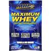 MHP, Maximum Whey, Vanilla Ice Cream, 1.29 oz (36.6 g)