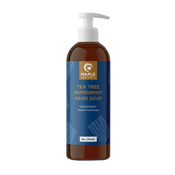 Maple Holistics, Tea Tree Peppermint Hand Soap, 8 oz (236 ml)
