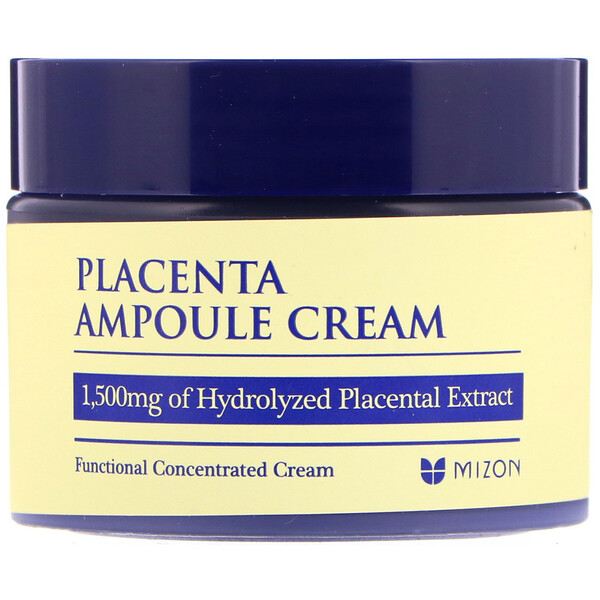 Mizon, Placenta Ampoule Cream, 1.69 fl oz (50 ml)