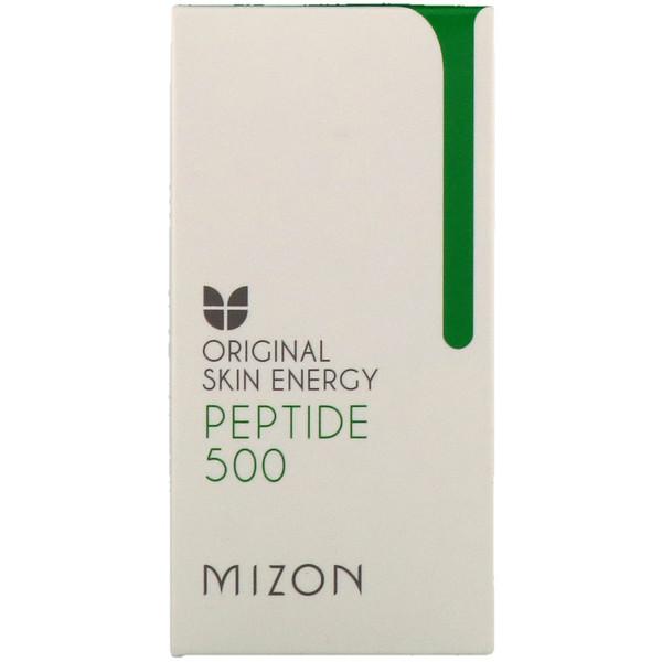 Mizon, Оригинальная энергия кожи, пептид 500, 1,01 унции (30 мл) (Discontinued Item)