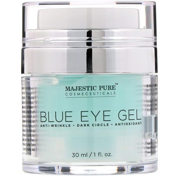 Majestic Pure, Голубой гель для кожи вокруг глаз, 30мл (Discontinued Item)
