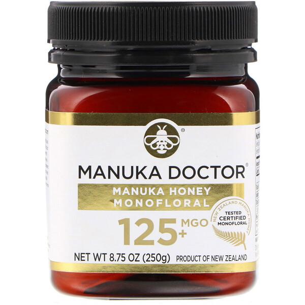 Manuka Honey Monofloral, MGO 125+, 8.75 oz (250 g)