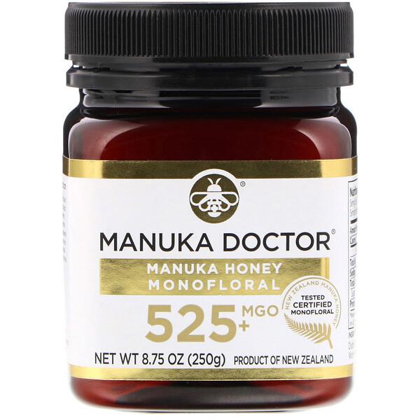 Монофлерный мед манука, MGO 525+, 250г (8,75унции)