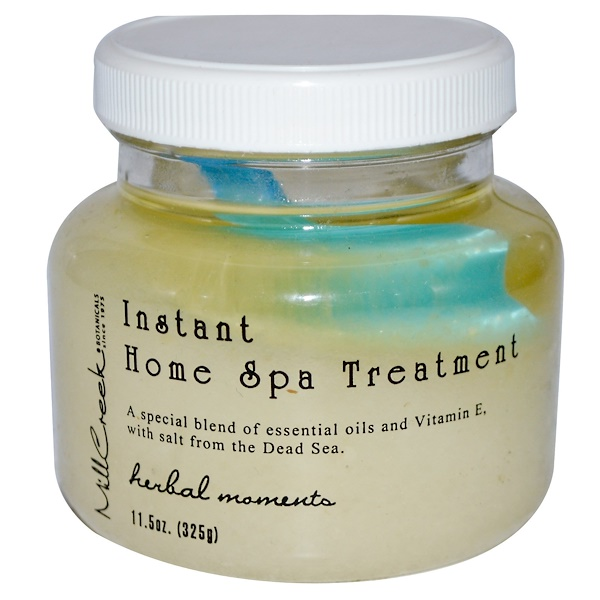 Mill Creek Botanicals, Instant Home Spa Treatment, Herbal Moments, 11.5 oz (325 g) (Discontinued Item)