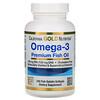 Калифорния Голд Нутришен, Омега-3, рыбий жир премиального качества, 100рыбно-желатиновых капсул