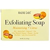 Madre Labs, Кусковое мыло для отшелушивания с маслами марулы и таману и маслом ши, цитрус, 5 унций (141 г)