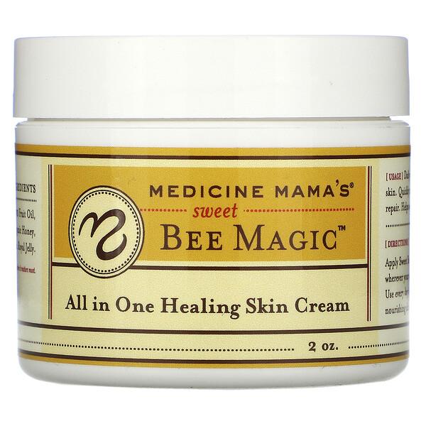 Medicine Mama's, Sweet Bee Magic, универсальный лечебный крем для кожи, 2 унции