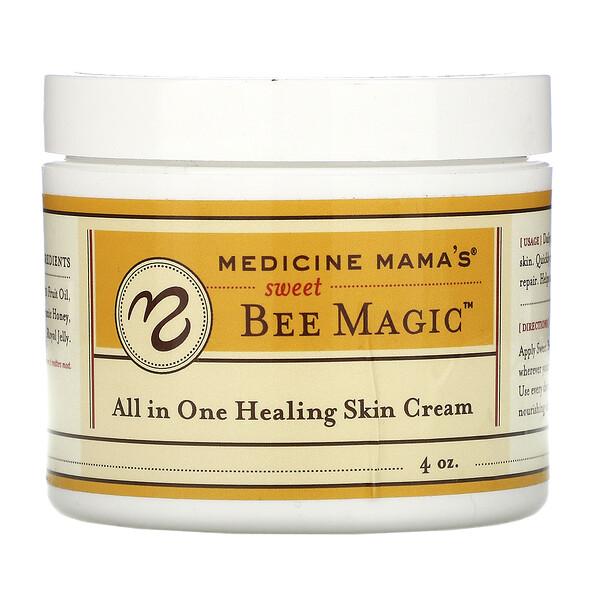 Сладкая магия пчел, все в одном, крем для залечивания кожи, 4 унции