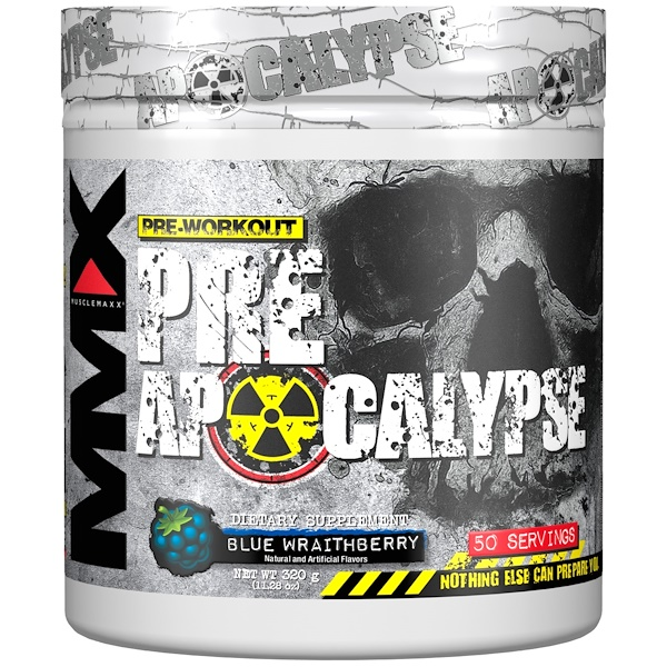 Pre Apocalypse, Pre-Workout, Blue Wraithberry, 11.28 oz (320 g)
