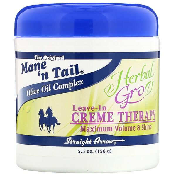 Herbal Gro, Несмываемый крем для волос, 5,5 унций (156 г)