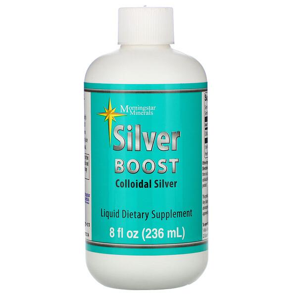 Silver Boost, Colloidal Silver Liquid, 8 fl oz (236 ml)