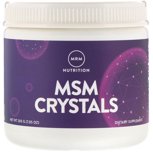 Кристаллы МСМ (метилсульфонилметана), 1000 мг, 200 г (7,05 унции)