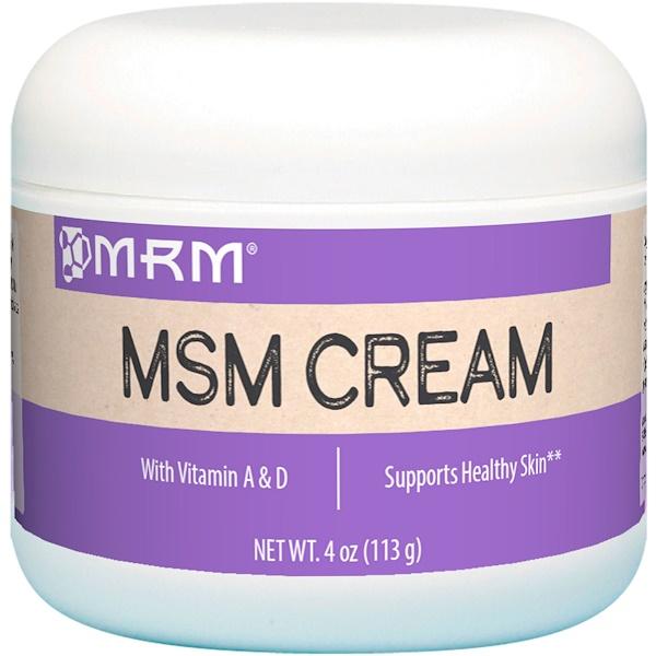 MRM, Крем с МСМ, 113 г