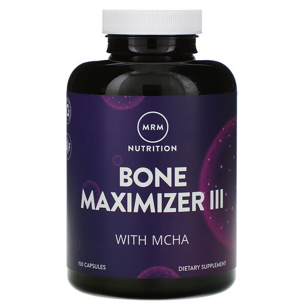Nutrition, Bone Maximizer III with MCHA, 150 Capsules