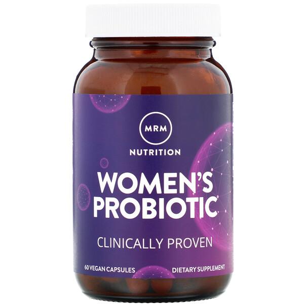 Женский пробиотик, 60 веганских капсул