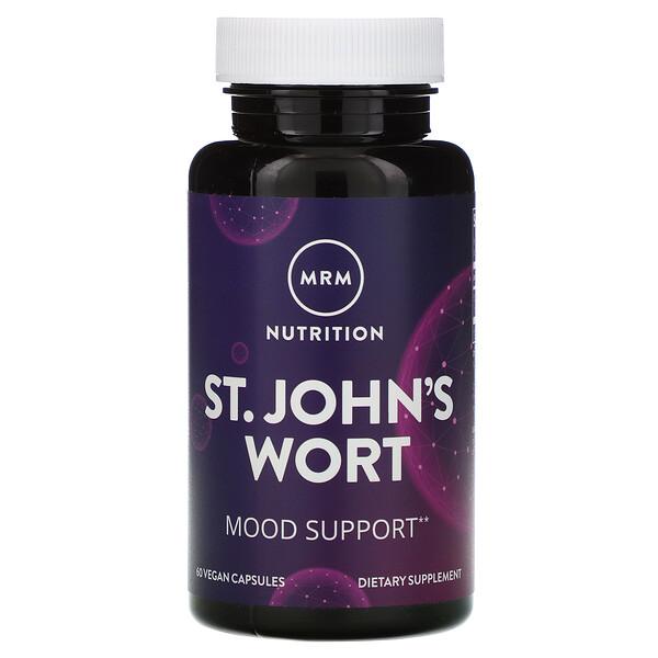 MRM, Nutrition, St. John's Wort, 60 Vegan Capsules