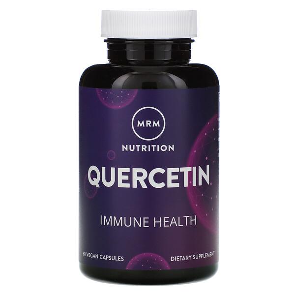MRM, Nutrition, Quercetin, 60 Vegan Capsules