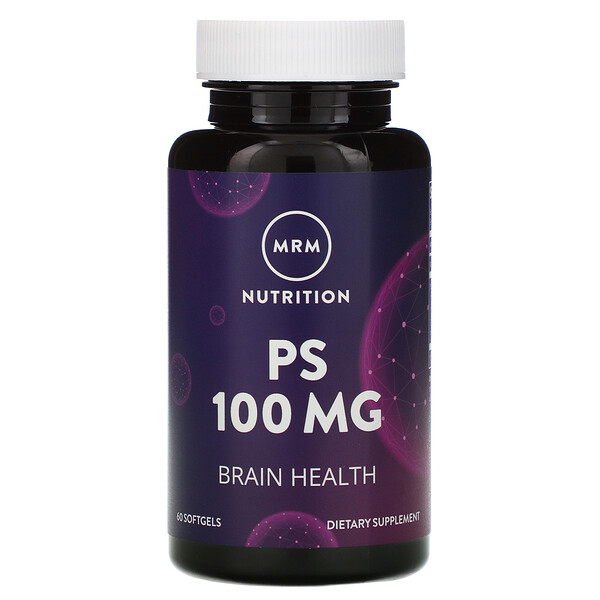 Nutrition, PS, 100 mg, 60 Softgels