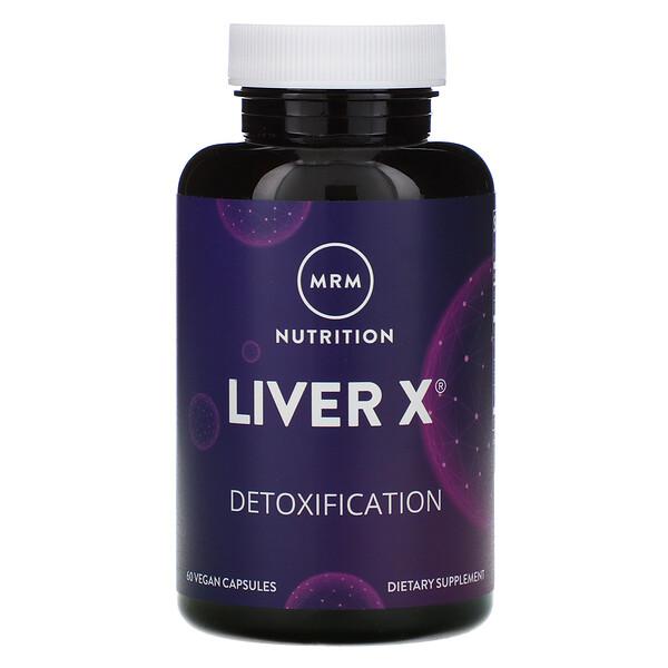 Nutrition, Liver X, 60 Vegan Capsules