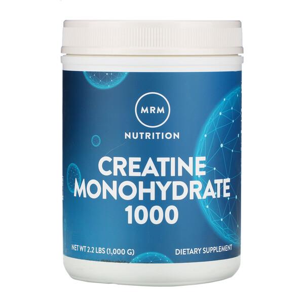 Креатина моногидрат 1000, 1000 г (2,2 фунта)