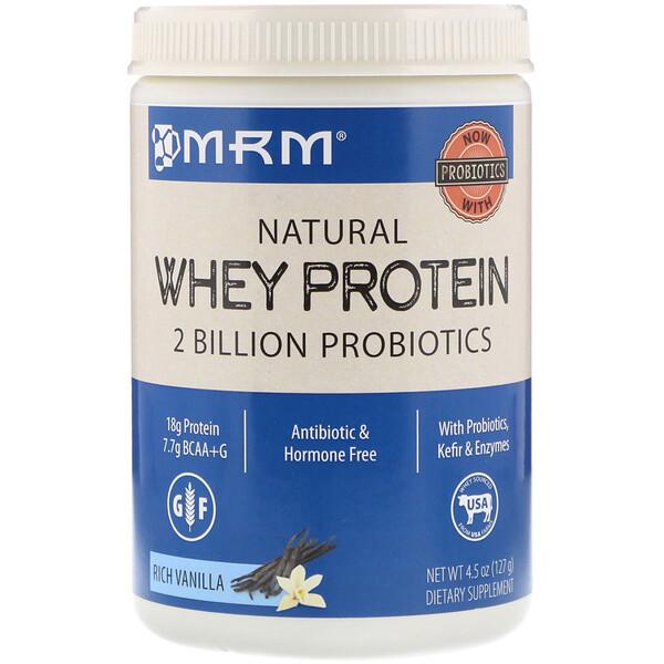 MRM, Whey Protein, Rich Vanilla, 4.5 oz (127 g)