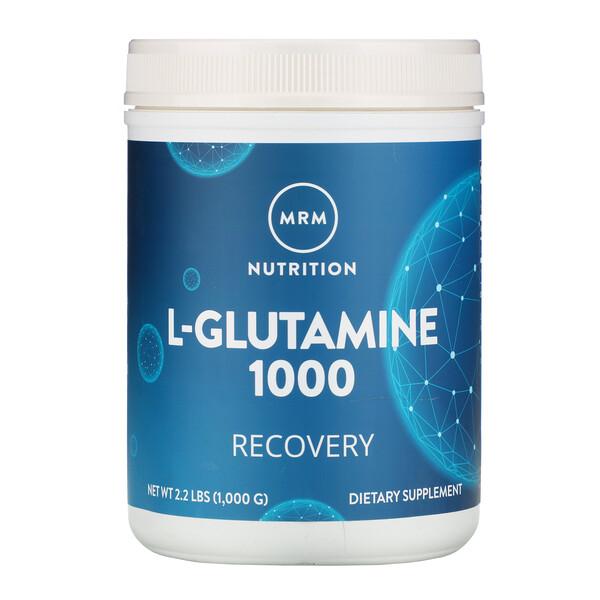 L-глутамин 1000, 1000 г (2,2 фунта)